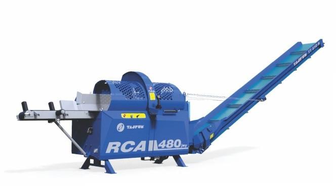 Дровокол RCA 480 JOY з транспортером 4 м  (Дровокол с транспортером)