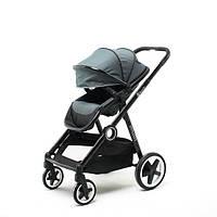 Детская прогулочная коляска Babyzz Dynasty (серая) + бесплатная доставка