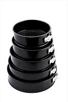 Форма антипригарная разъемная круглая Ø 260*240*220*200*180 мм;H 68 мм (набор 5 шт) Empire 9846