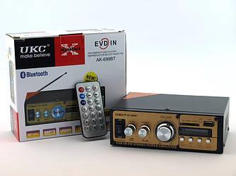 Усилитель звука UKC AK-699D MP3 FM 220v 12v 40W