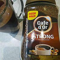 Кофе растворимый гранулированый Cafe d'Or  ДОР стронг арабика 300гр