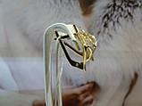 Серьги золотые с цирконием, фото 3