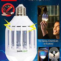 Светодиодная противомоскитная лампа Zapp Light покрываемая площадь 60кв.м, ультрафиолет, 10Вт, Уничтожители насекомых