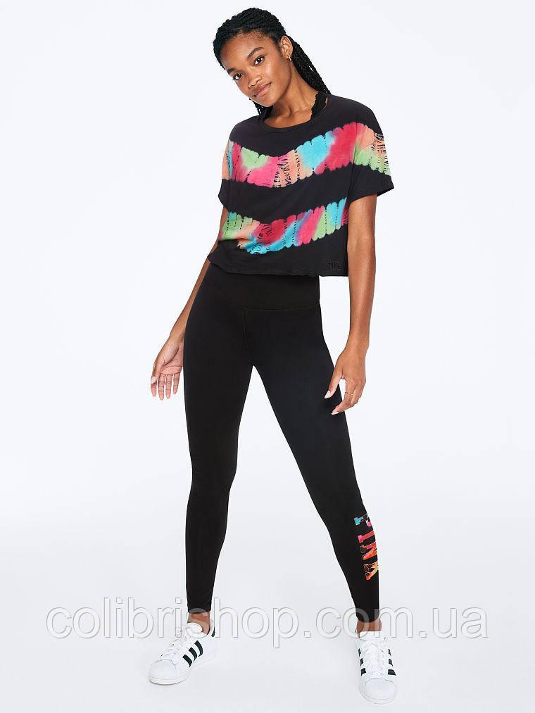 Женская стильная футболка  PINK Victoria's Secret