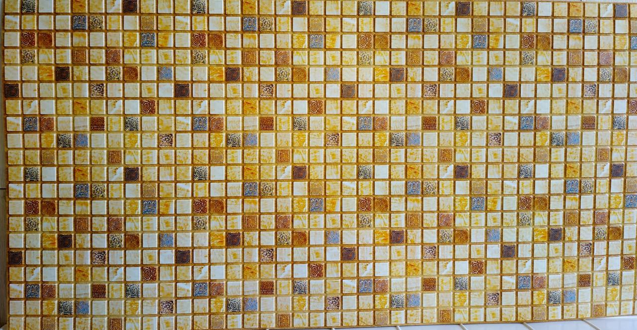 Пластикова листова стінова панель ПВХ Грейс Grace Марракеш 0,3мм 955*480 мм