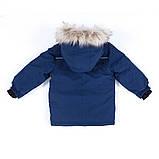 Зимняя куртка - парка для мальчика NANO F19M1301 Navy. Размеры 2 - 14 лет., фото 3