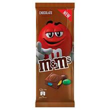 Шоколад M&Ms с молочным шоколадом и разноцветным драже, 150 грамм