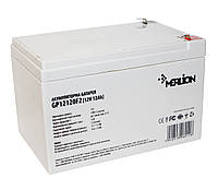 Аккумулятор для ИБП 12В 12Ач Merlion AGM GP12120F2, 12V 12.0Ah, 151х98х101 мм