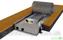 Конвектор в пол большой мощности КПТ 360.1250.125. Алюминевый корпус, вентилятор. Монтаж отопления Одесса