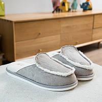 Тапочки домашние мужские Hommy 43 44 р Серый QF29D7grey, КОД: 1491167