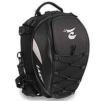 Кофр-мотосумка для мотоцикла задняя для хранения вещей багажная LAICOBEAR 40 х 30 х 29 см Черный (HZ50)