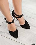 Эффектные открытые туфли на каблуке, фото 3