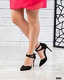 Эффектные открытые туфли на каблуке, фото 2