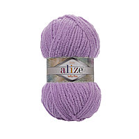 Плюшевая пряжа Ализе софти плюс Alize Softy Plus багряник 47