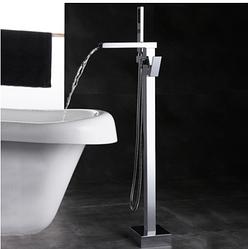 Смеситель для ванны напольный RD-301 Хром