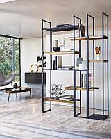 Дизайнерский Стеллаж в стиле Лофт Loft Индастриал