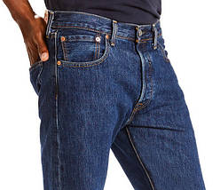 Джинсы мужские Levi's 501 Original Fit Dark Stonewash Синий (005010194), фото 3