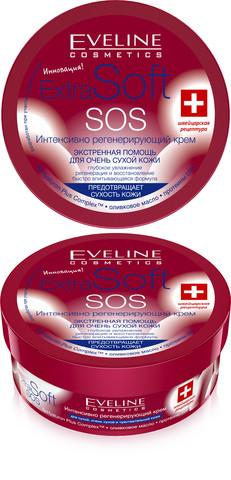 Крем для лица и тела EXTRA SOFT SOS Интенсивно регенерирующий
