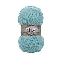Плюшевая пряжа Ализе софти плюс Alize Softy Plus бюрозового цвета 263