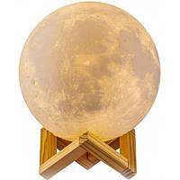 Настольний светильник Magic 3D Moon Light № E21 два режима, 3W, USB, 300мАч, светильники, ночник, фото 1