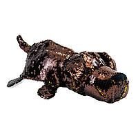 М'яка Іграшка з паєтками 2 В 1 - ZooPrяtki - Лабрадор-Кот (30 Cm)