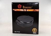 Вафельница электрическая Domotec MS 7710 | Антипригарное покрытие формы
