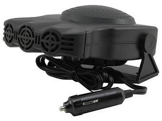Автодуйка Car Fann 704 | Автомобильный обогреватель от прикуривателя Auto Heater 704 Fan 12V 150W