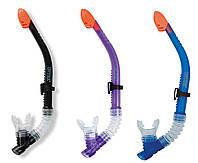 Intex Трубка 55928 з клапаном, 3 кольори від 8 років