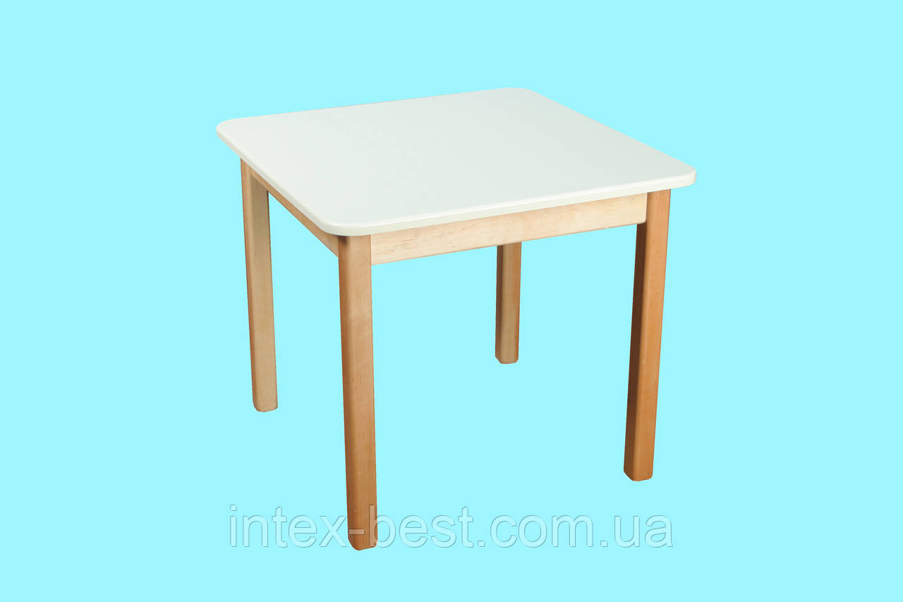 Деревянный (ваниль) столик Bambi (Финекс Плюс)