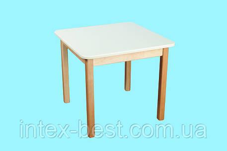 Деревянный (ваниль) столик Bambi (Финекс Плюс), фото 2