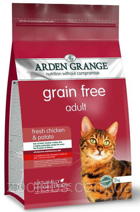 Корм Arden Grange для кошек   Arden Grange Grain Free Adult Cat 8 кг