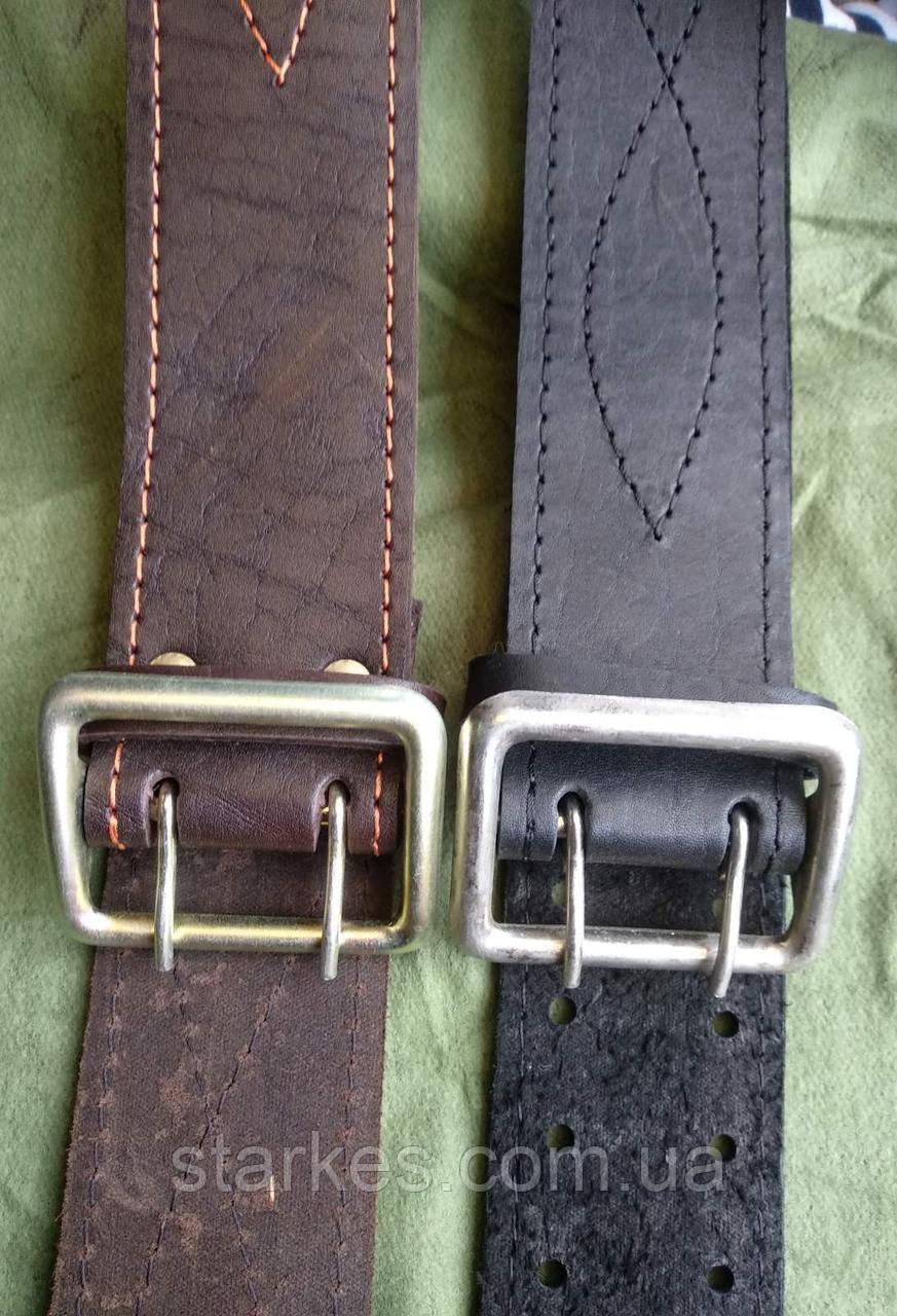 Ремни офицерские кожаные, 85 - 145 см на выбор