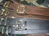 Ремни офицерские кожаные, 85 - 145 см на выбор, фото 5