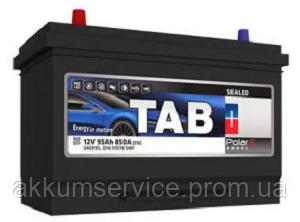 Акумулятор автомобільний TAB Polar S 95AH L+ 850A Asia (246995)