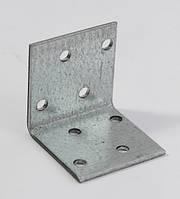 Уголок крепежный 40х40х40х1,8 равносторонний (50 шт/уп)