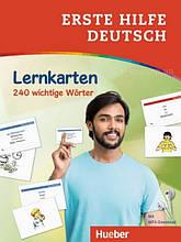 Карточки Erste Hilfe Deutsch: Lernkarten 240 wichtige Wörter / Hueber
