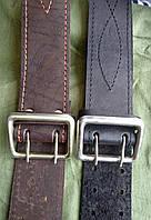 Ремни офицерские кожаные, 110 см и др. на выбор.