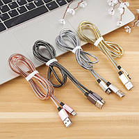 Кабель micro USB металл Cable metal X45