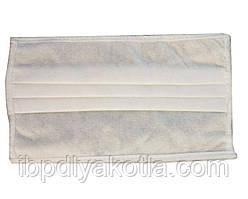 Медицинские маски трехслойные 10 шт белые, заводские