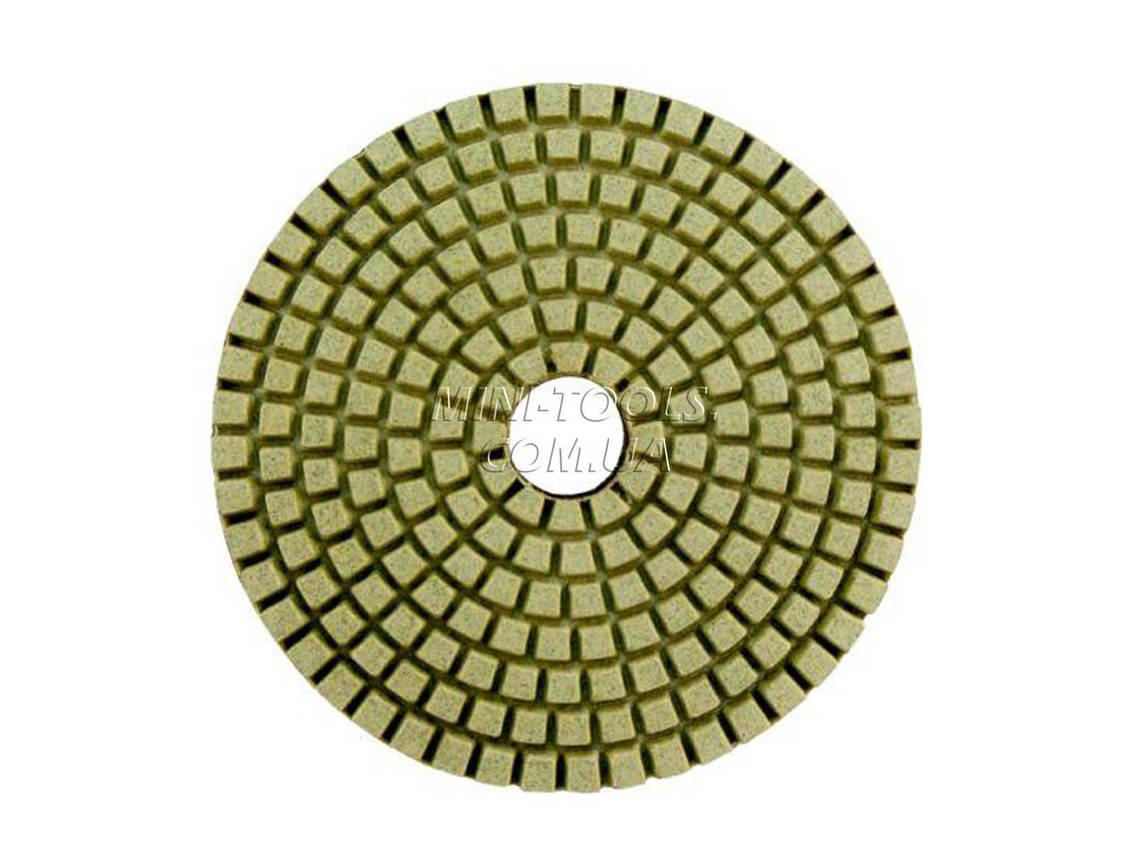 Черепашка D-125мм. зерно #400. Алмазний гнучкий шліфувальний круг YDS Tools, фото 2