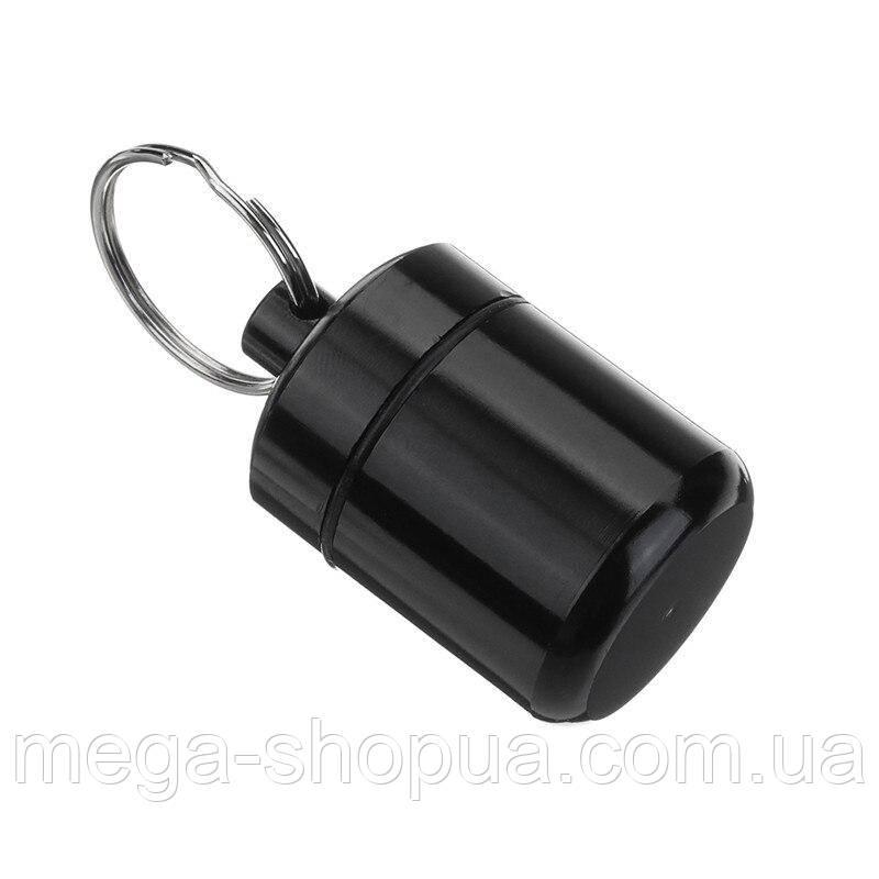 Брелок-капсула для ключей Waterproof Capsule VG42 Black