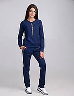 Оригинальный женский спортивный костюм с карманами