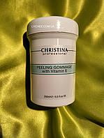 Пилинг-гоммаж с витамином Е Christina Peeling Gommage with vitamin E, 250мл, фото 1