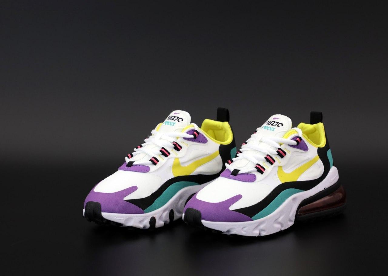 Мужские кроссовки Nike Air Max 270 React 31575 разноцветные