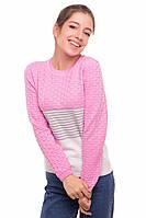 Джемпер для девочек Tashkan Клио 42-152 Розовый T-1539000002-42, КОД: 1528669