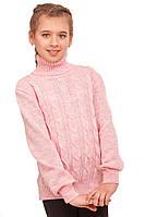 Свитер для девочек Tashkan Элиза 38-140 Розовый T-1586000001-38, КОД: 1528717