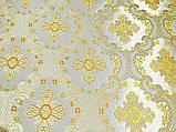 Тканина церковна Елеон,ткань парча,шолк для облачений, фото 3