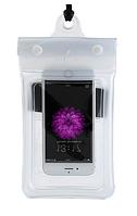 Чохол водонепроникний для мобільних телефонів TRAVELSKY з ремінцем 20.5*10см Білий (3481)