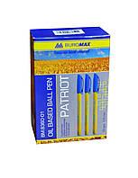Набор масляных ручек 50 шт Buromax Patriot BM.8360-01 Ручка Синий 0.5 мм корпус Пластик (6506)