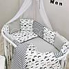 Комплект в овальную детскую кроватку Baby Design Усы (7 предметов), фото 5